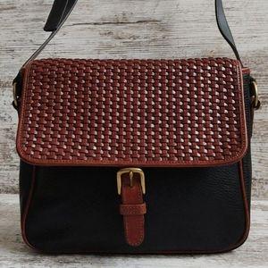 ⚂Vintage Talbots Italian Leather Bag